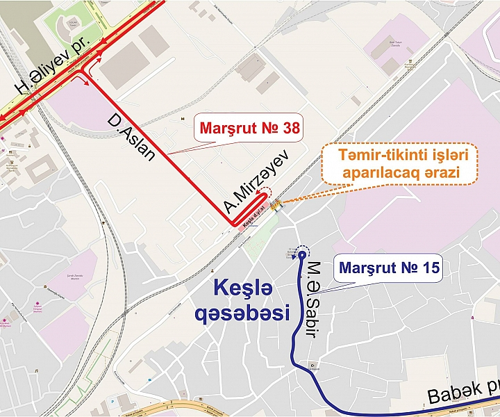 Itineraries of two bus routes changed